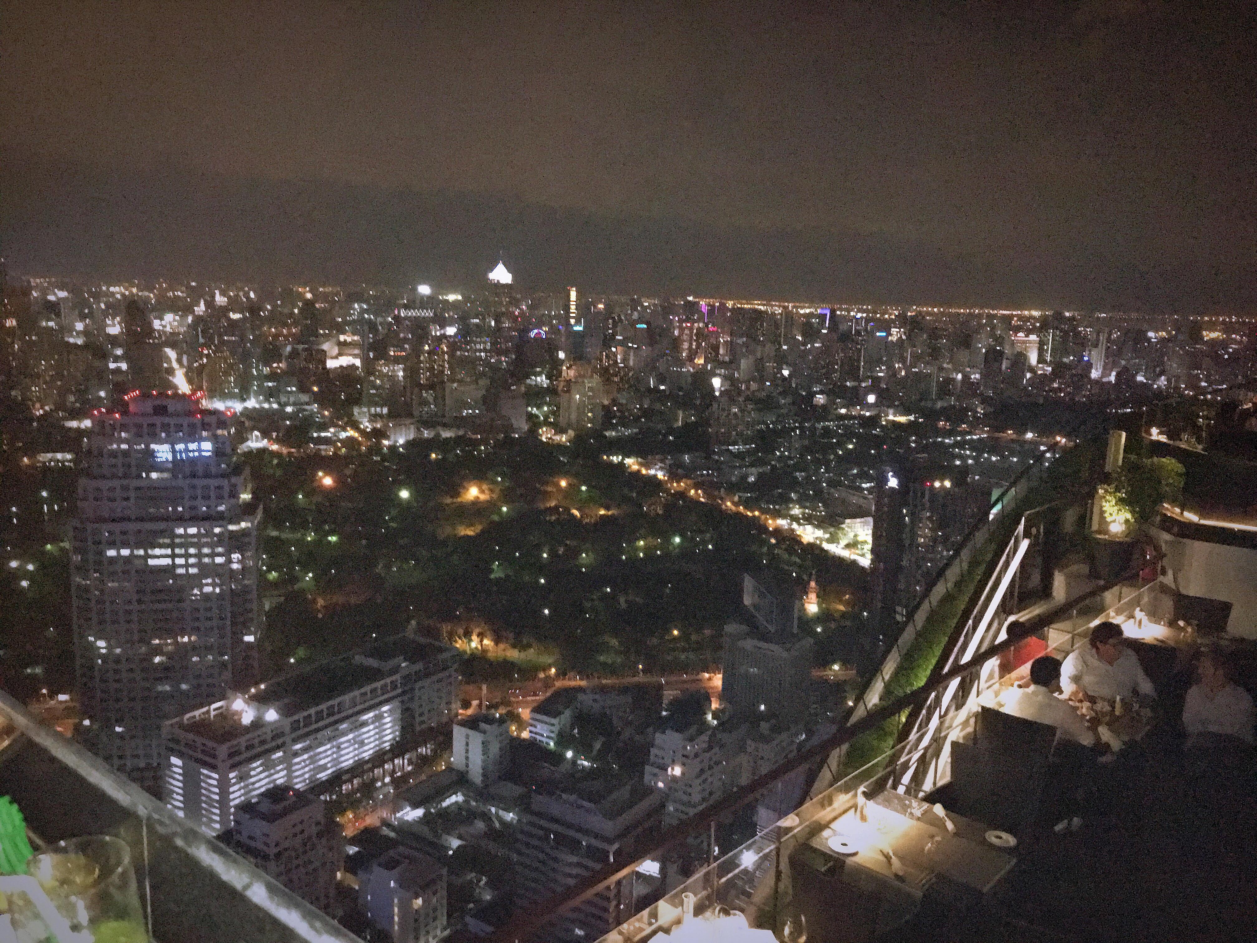 Vertigo and Moon Rooftop Bar Bangkok