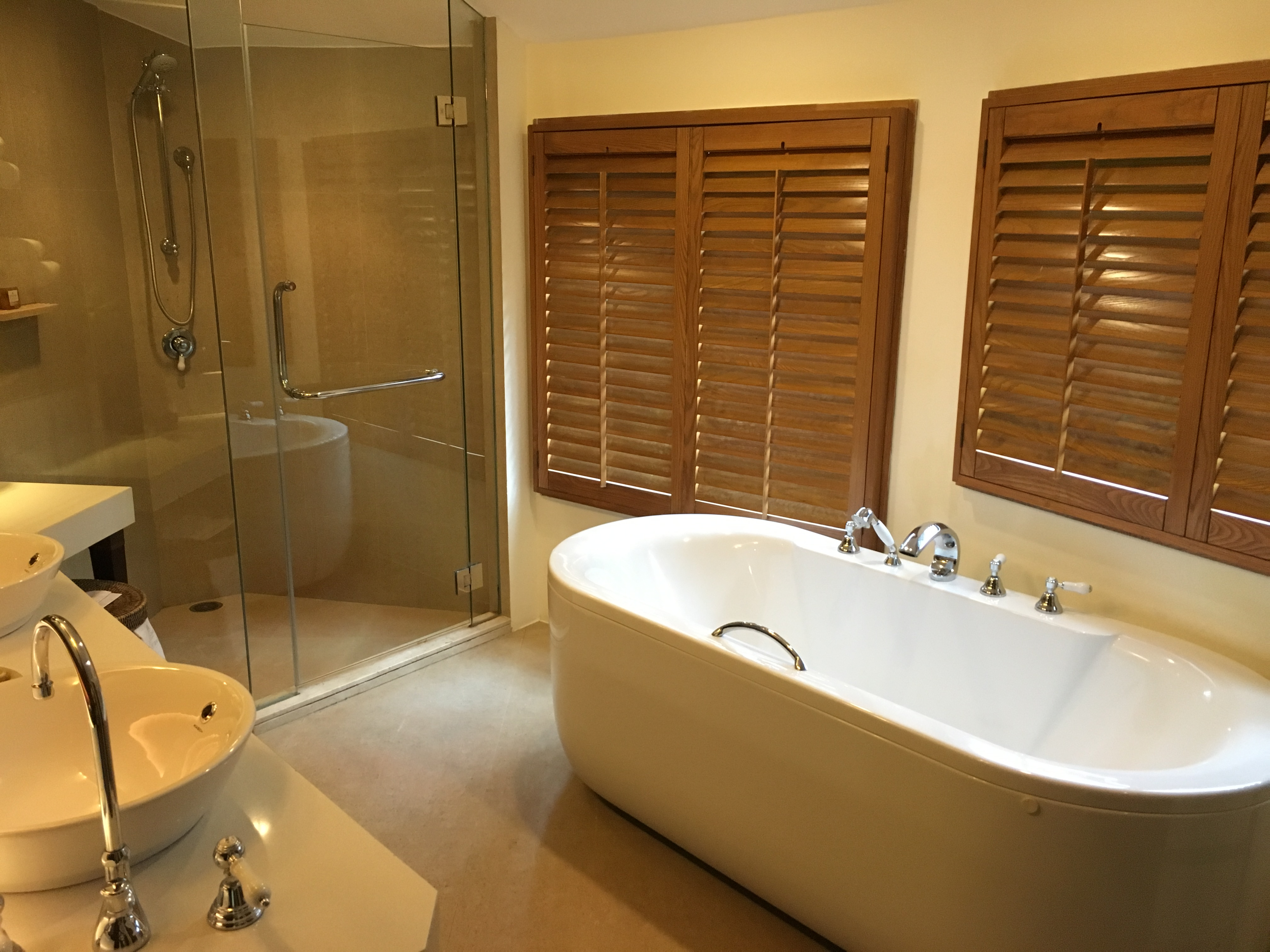 Deluxe Pavilion Bathroom Rayavadee Resort Krabi